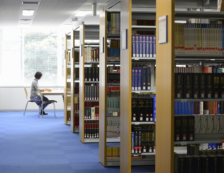 A_Person in Library